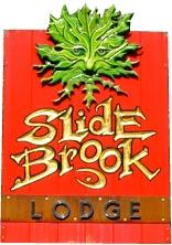 Slide Brook At Sugarbush Sign